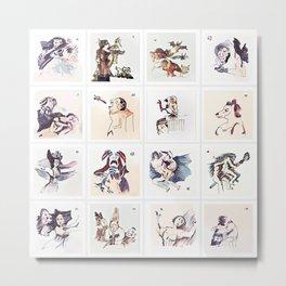 Collection 16 ~ Los Caprichos Metal Print