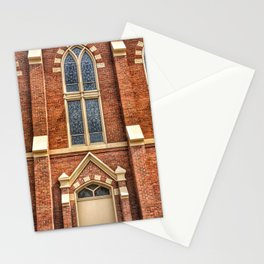 First Lutheran Church Windows in Moline, Illinois Stationery Cards