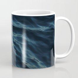 Deep blue waves Coffee Mug