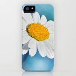 Daisy macro 083 iPhone Case