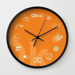 Oklok2 Wall Clock