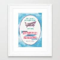 sylvia plath Framed Art Prints featuring A HOT BATH//SYLVIA PLATH QUOTE by Connie Cann