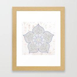 Colorful mandalas Framed Art Print