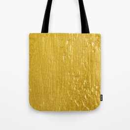 Luxury Solid Gold Paint Texture Tote Bag
