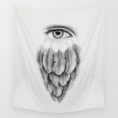 Life Under His Eye Wall Tapestry