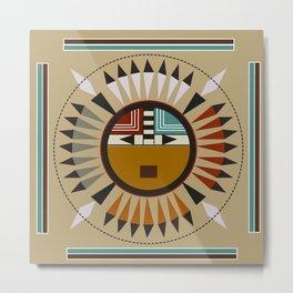 American Native Pattern No. 98 Metal Print