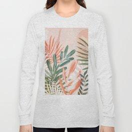Tropical Leaves 4 Long Sleeve T-shirt