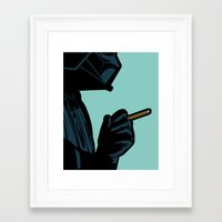 the secret life of heroes Framed Art Prints featuring The secret life of heroes - DarkBreath by Greg-Guillemin
