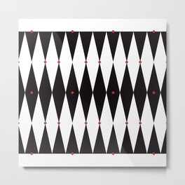 The Night Circus Series - Pattern 3 Metal Print