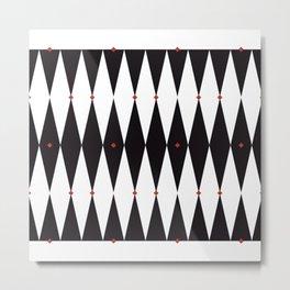 The Night Circus Series - Pattern 3 Metal Print