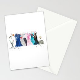 Mary Poppins costumes Stationery Cards