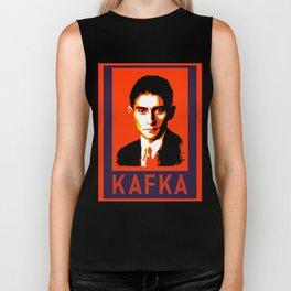 Authors of Note - Franz Kafka Biker Tank