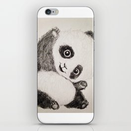 The Panda Princess iPhone Skin