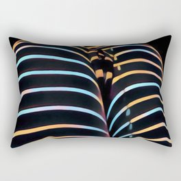 2634s-AK Striped Thighs Bottoms Up Intimate Abstract by Chris Maher Rectangular Pillow