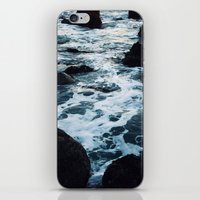 salt water iPhone & iPod Skins featuring Salt Water Study II by Teal Thomsen Photography