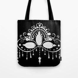 Bead Drop Mask Tote Bag