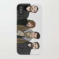 bastille iPhone & iPod Cases featuring Bastille by wellsi