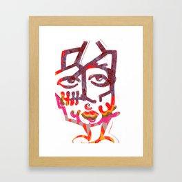 Exhibit A. Framed Art Print