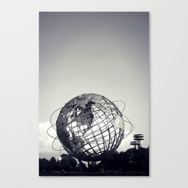 Unisphere at Flushing Meadows Park - New York City, Queens Canvas Print