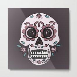 Skull Skill Metal Print