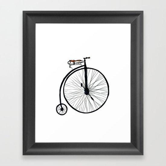 boneshaker Framed Art Print