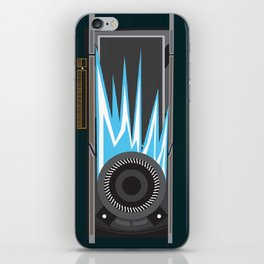 Graphic Card Fire by Reed Sikorski iPhone Skin