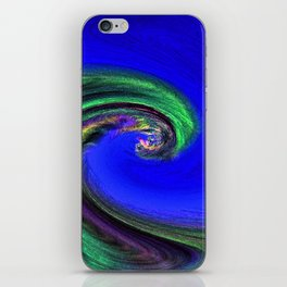 """Night Wave"" Photograph iPhone Skin"