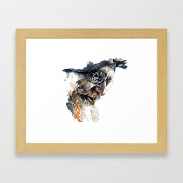 FACE#4 Framed Art Print