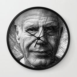Anthony Bourdain Wall Clock