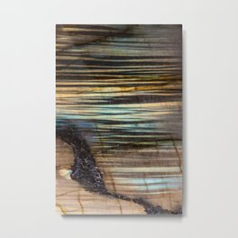 Refractive Sunrise Metal Print