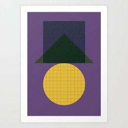 Cirkel is my friend V6 Art Print