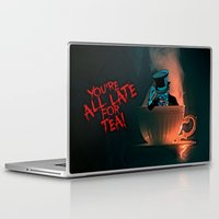 mad hatter Laptop & iPad Skins featuring Evil Mad Hatter by Sberla