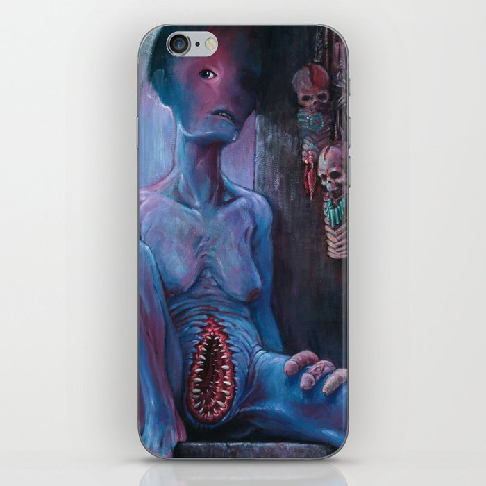 THE COLLECTOR iPhone Skin