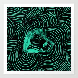 Contortion Art Print