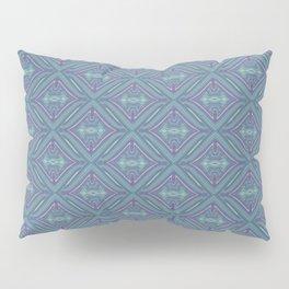 Blue Patch Pillow Sham