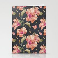 hibiscus Stationery Cards featuring Hibiscus by 83 Oranges™