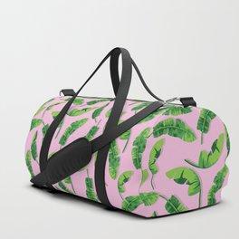 Banana Leaf (Pink) Duffle Bag