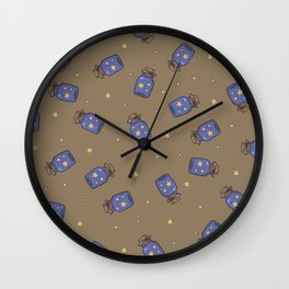 Magic Bottle Pattern Wall Clock