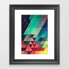whw nyyds yt Framed Art Print