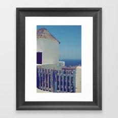 Windmill House II Framed Art Print