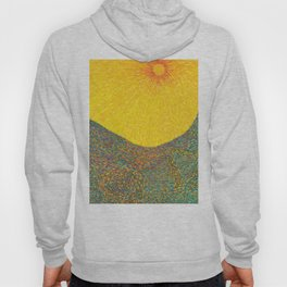 Here Comes the Sun - Van Gogh impressionist abstract Hoody