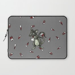 Dirty Rat bloody Teeth Laptop Sleeve