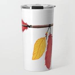 KC Chiefs Arrow Travel Mug