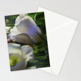 Lisianthus single Stationery Cards