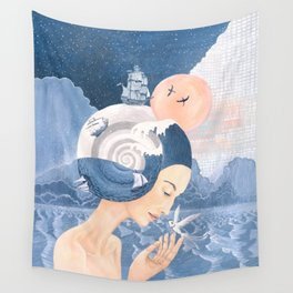 Sound of Sea Wall Tapestry