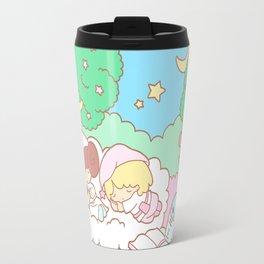 Sleepy Ewok Dream Forest Travel Mug
