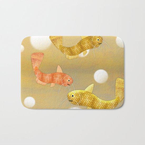 Toy Catfish (Gold) Bath Mat