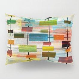 Mid-Century Modern Art 1.3 -  Graffiti Style Pillow Sham