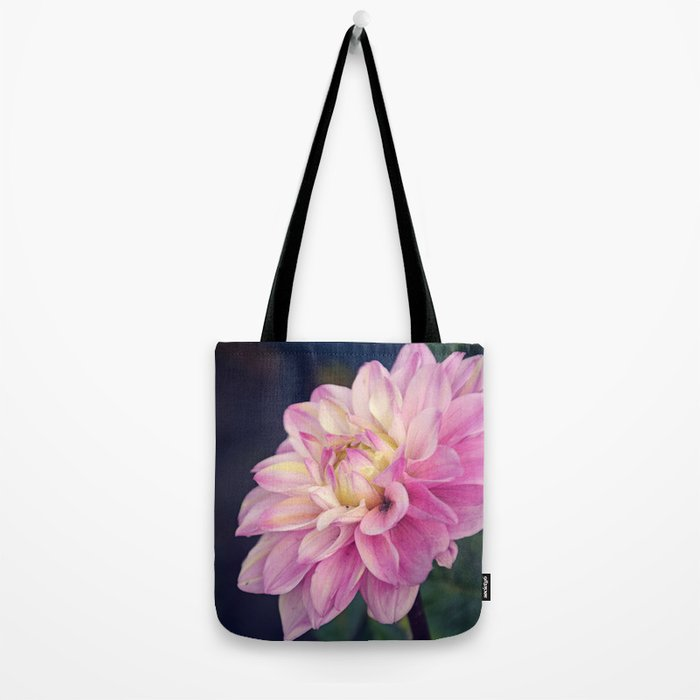 Pink sweet dahlia Tote Bag