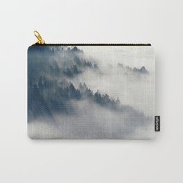 Mountain Fog and Forest Photo Carry-All Pouch